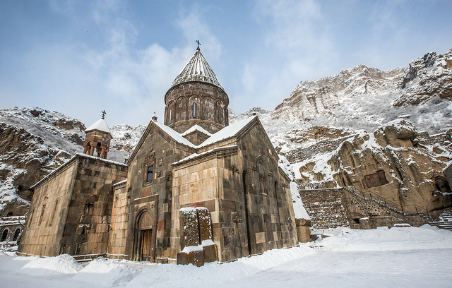 Geghard Monastery 4th c., Chapel 12th-13th c.