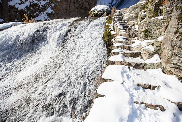 Jermuk Frozen Falls